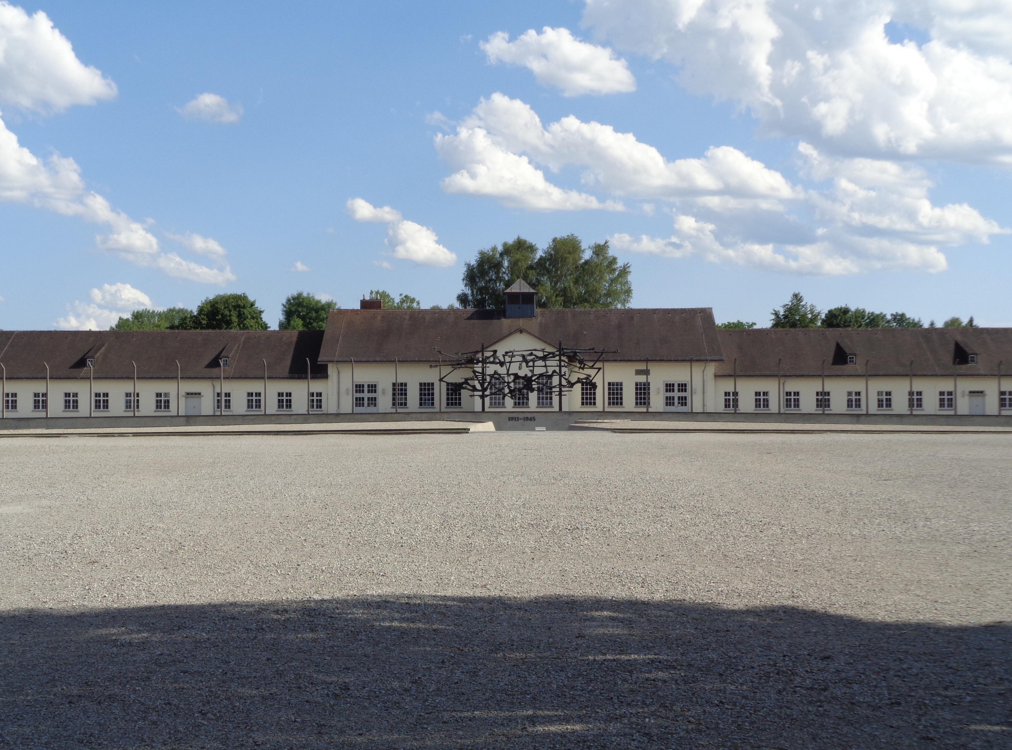 Dachau, první koncentrační tábor nacistů. Foto P. Mach