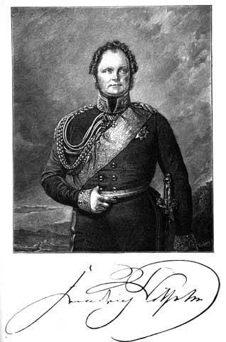Král, kterému Felix Lichnovský zachránil život. Fridrich Vilém IV pruský.