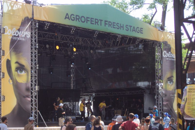 Agrofert stage. Foto Josef Mlejnek jr.