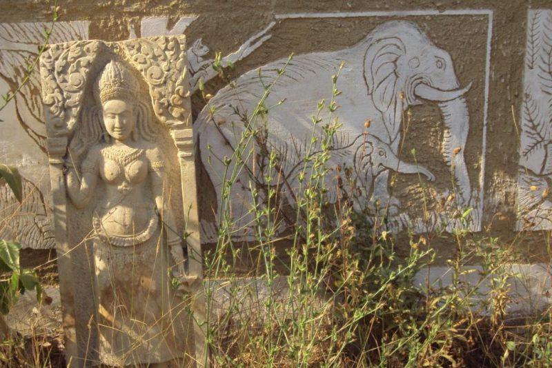 Bohyně se slony. Foto Josef Mlejnek jr.