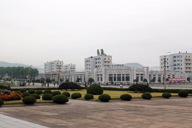 Město Čchongdžin. Foto Raymond K. Cunningham, Jr., zdroj: Wikimedia Commons
