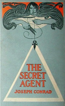 Obálka prvního amerického vydání Conradova románu Tajný agent. Zdroj: Wikipedia.