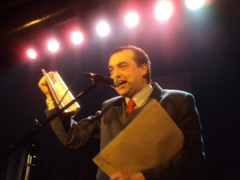 Ladislav Čumba, nebo ďábel? Foto Josef Mlejnek jr.