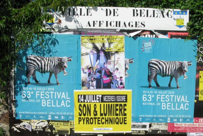 Francie reklama kráva