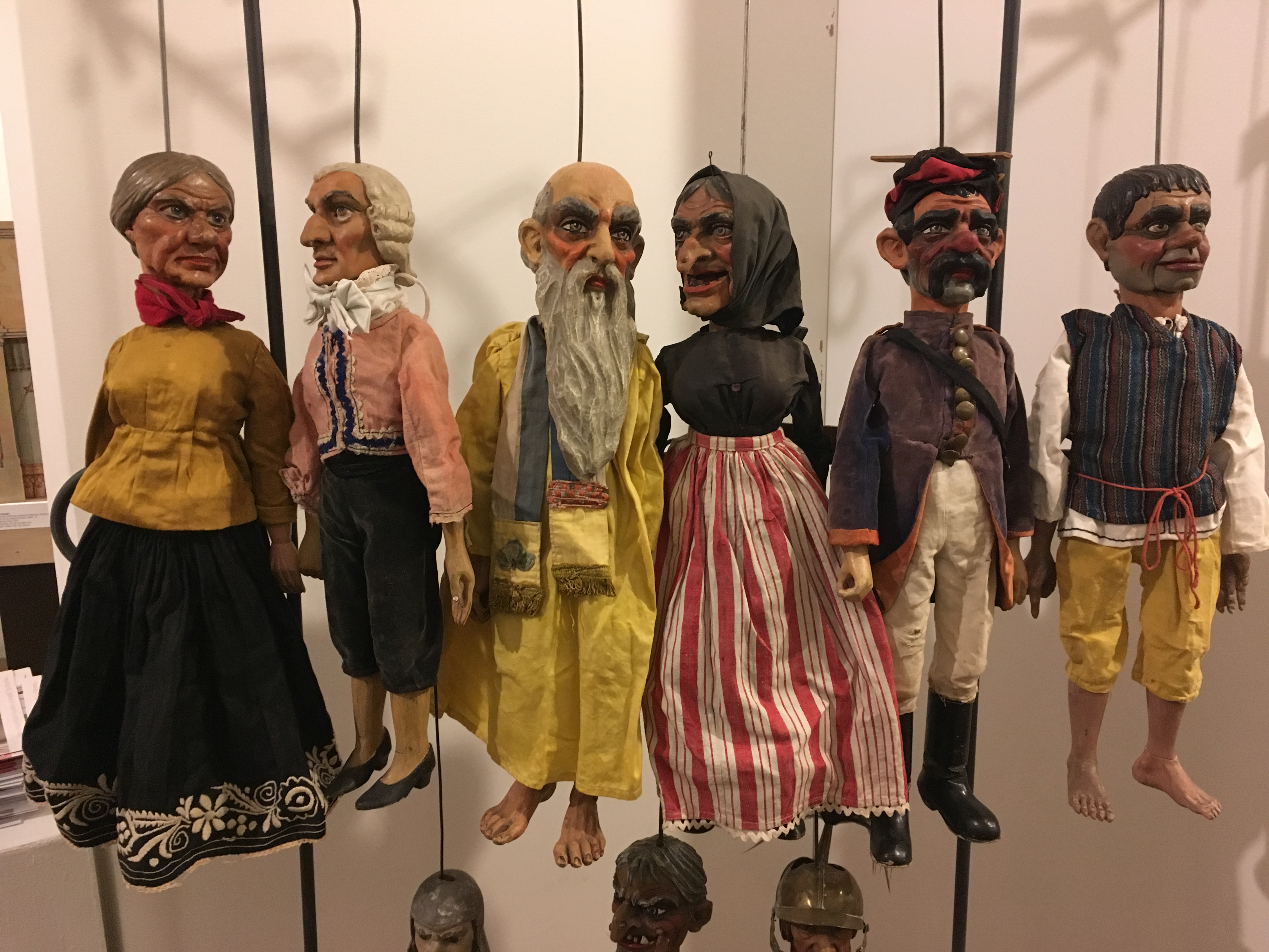 Výstava loutek v oblastním muzeu Praha-východ Brandýs nad Labem. Foto PM